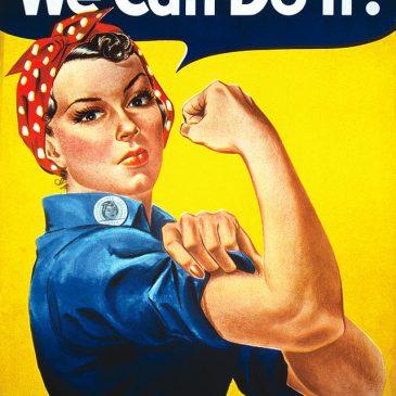 Rosie the Riveter (Rosie la remachadora): la historia detrás del póster