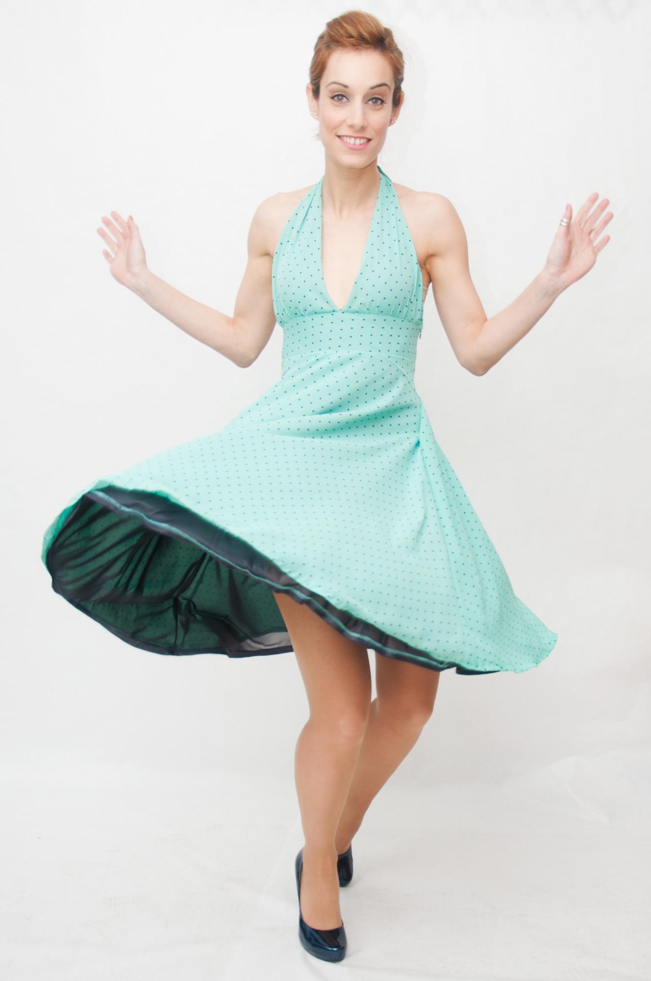 Vestido estilo Marilyn Malibú - Dresses2Kill