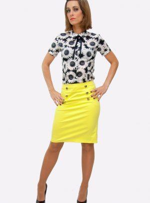 Conjunto falda y camisa Sunflower