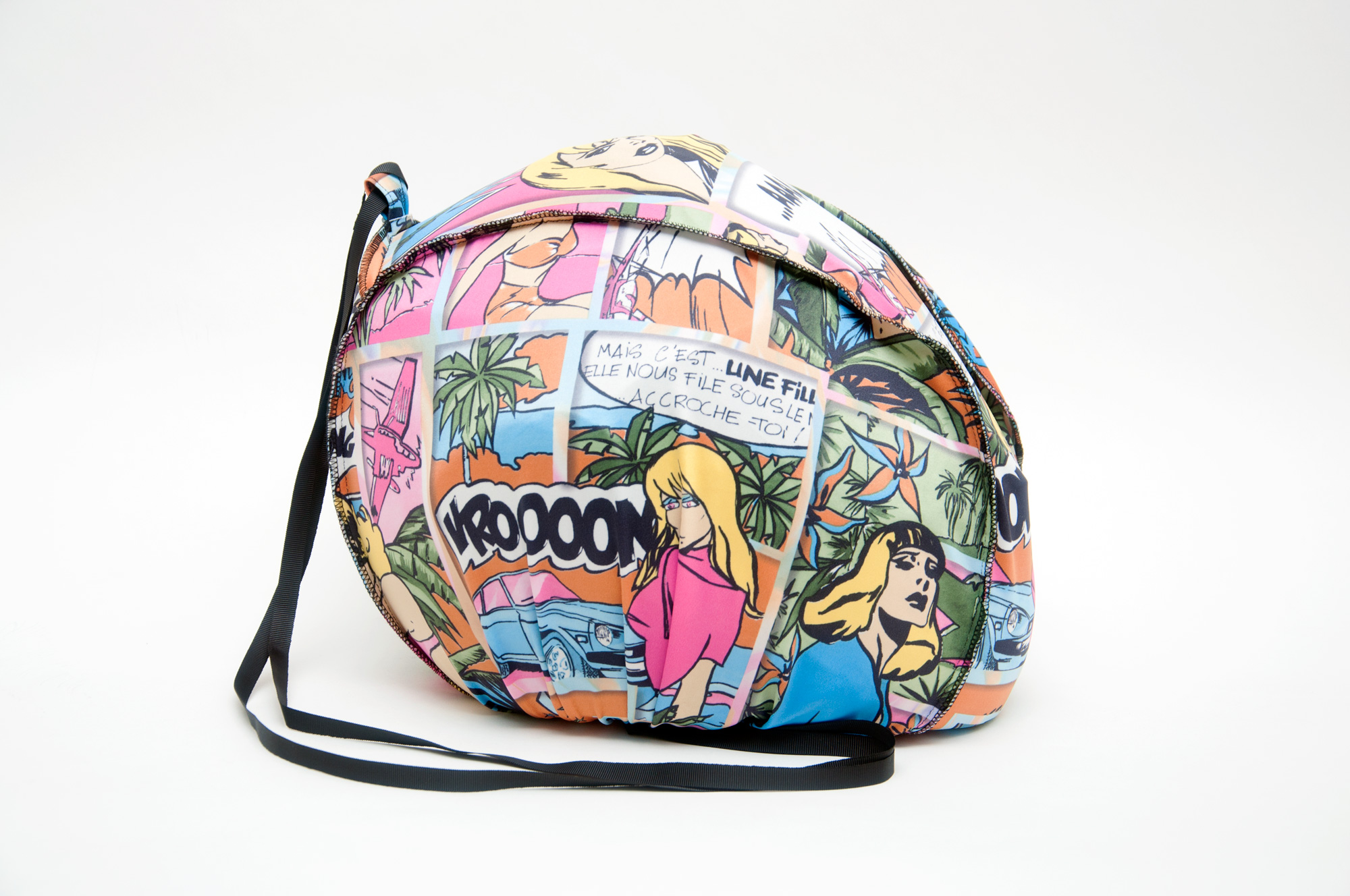 Funda casco comic
