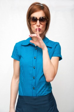 Camisa cuadros azul-South-Beach
