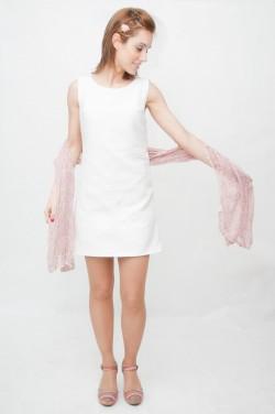 Vestido-yeye blanco Clearwater-3
