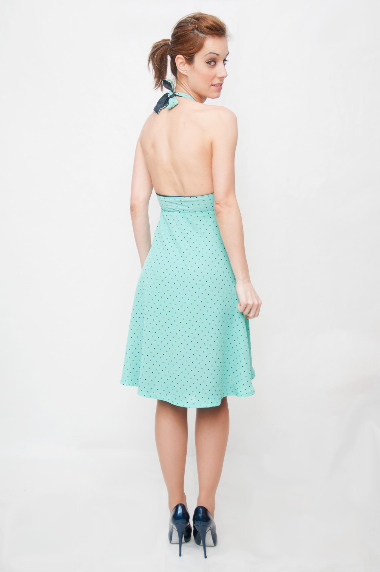 Vestido-espalda descubierta Malibu-Espalda