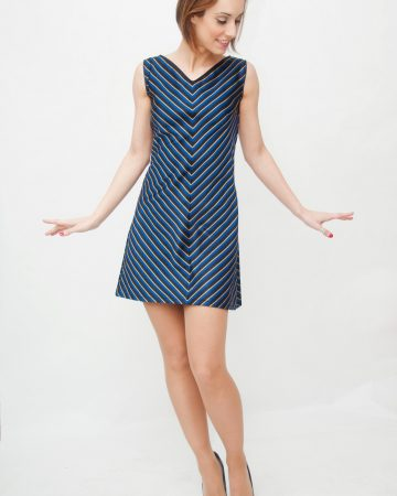 Vestido rayas v -Summertime-Blues