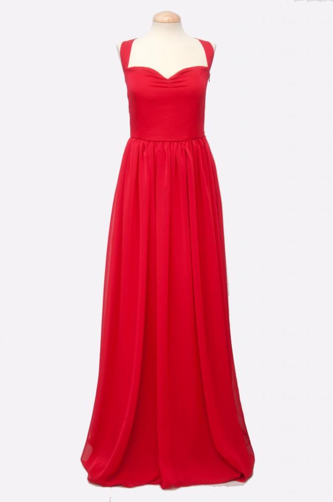 Vestido-gasa-rojo-largo-invitada-Franzi