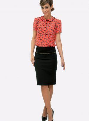 Conjunto falda y blusa Blackbird