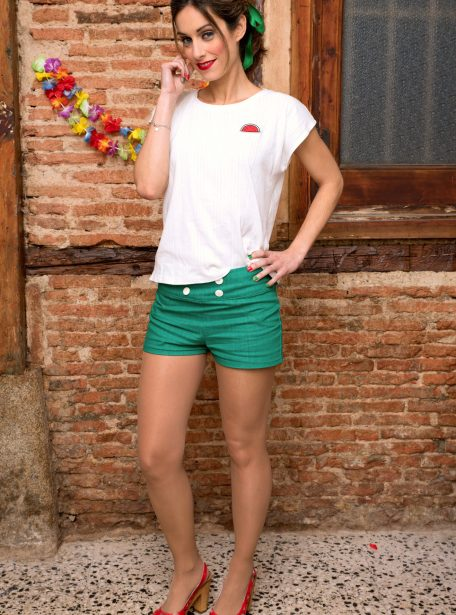 Camiseta Cocktail & Short Calypso