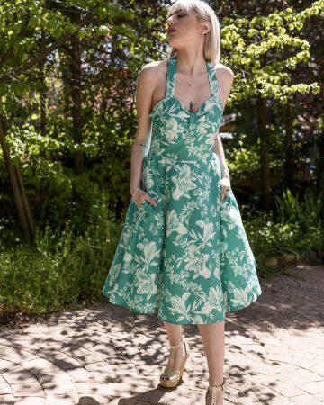 Vestido de flores Adelfa